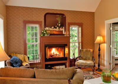 Sandwich Cottage Fireplace