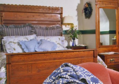 Eastlake Wooden Bed