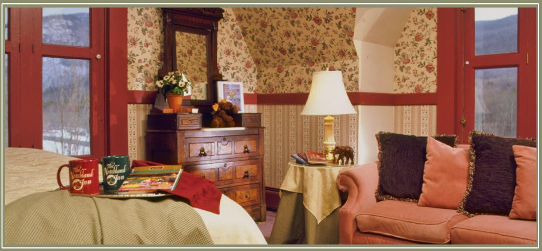 Crawford Deluxe Room at Notchland Inn