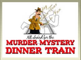 Murder Myster Dinner Train aboard the Conway Scenic Railroad