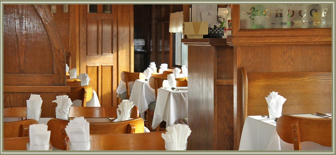 Conway Scenic Railroad dining car Chocorua