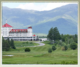 27 holes of golf to play in nearby Bretton Woods